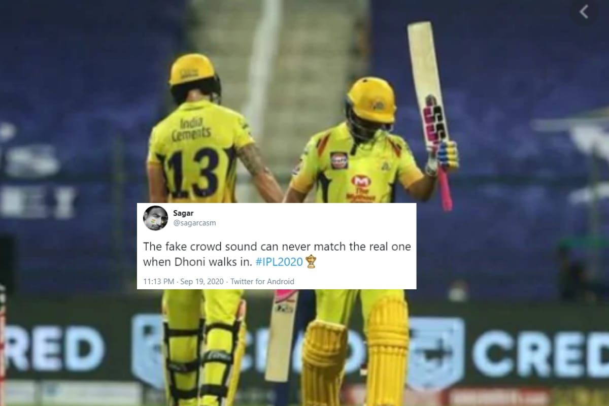 Cricket Fans Troll Ipl With Memes After Mi Vs Csk Match Uses Fake Crowd Sound