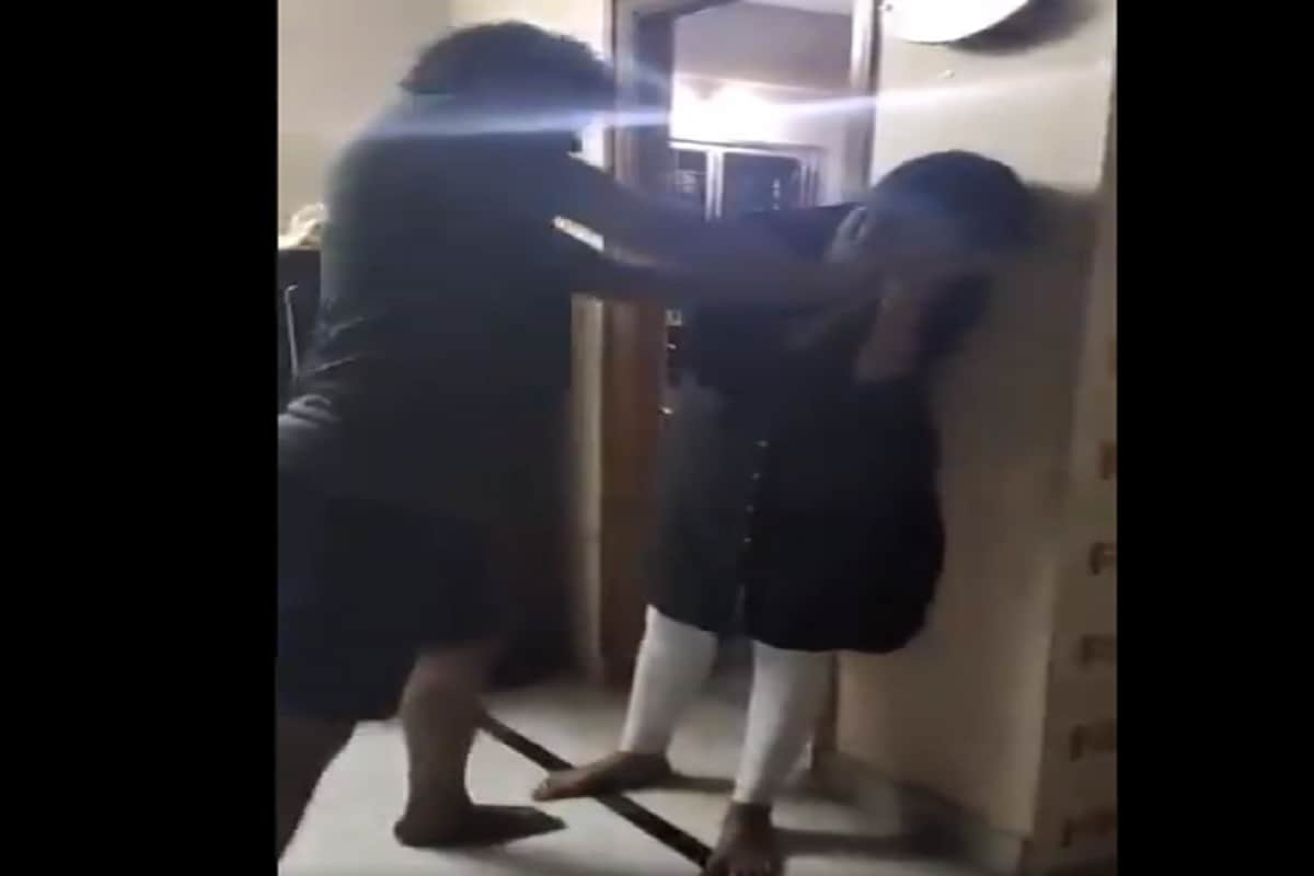 Caught on Camera: Hyderabad Woman Brutally Assaulted by Husband; Police Take Cognisance