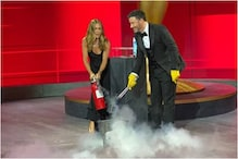 Emmys 2020: Jennifer Aniston Putting Out Fire on Stage is a Fan Favourite Moment, Watch Video