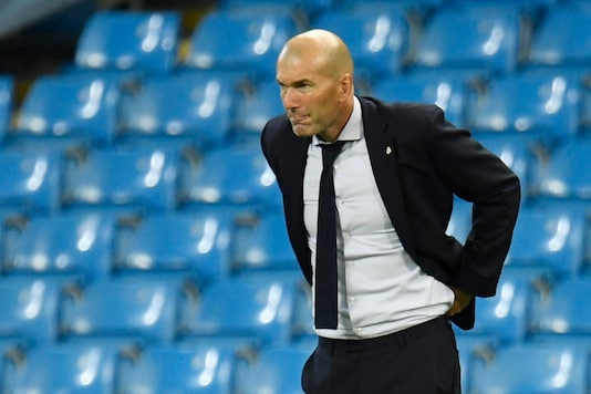 Zinedine Zidane (Photo Credit: Reuters)