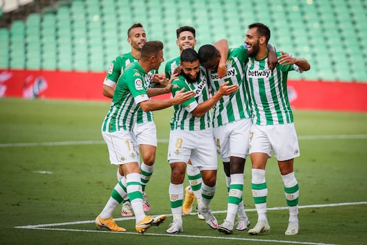 Real Betis beat Real Valladolid (Photo Credit: Real Betis Twitter)