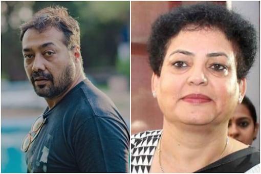 Anurag Kashyap (L), Rekha Sharma