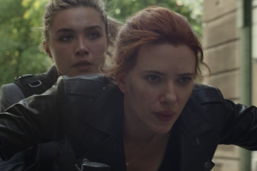 Scarlett Johansson on Passing Black Widow Baton to Florence Pugh: She's Strong, Different