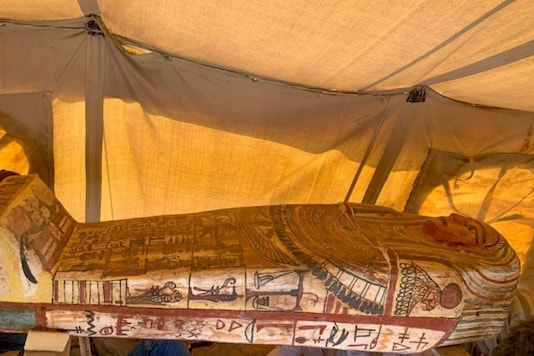 Egyptian Ministry of Antiquities/AFP
