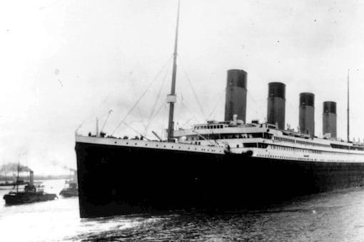Titanic. (Credit: AP)