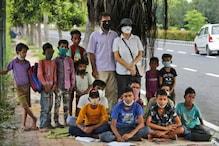 Delhi Couple Runs Street-Side Classes For Poor Students