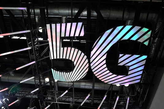 A sign of 5G is seen at the 2020 China International Fair for Trade in Services (CIFTIS) in Beijing, China September 4, 2020. (Photo: Reuters)