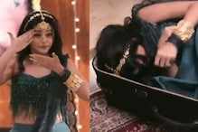 Logic, What's That? Indian Actress Tripping into Suitcase and Getting Trapped Inside is Peak Television