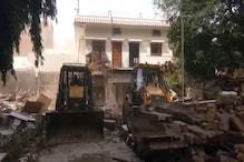 Former MP and Don Atiq Ahmad's Palatial House Demolished by Yogi Govt.