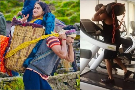 Sushant Singh Rajput's Sister Shares Unseen Pic of Actor Training Hard for Kedarnath