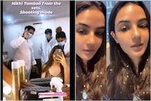 Bigg Boss 14: Jasmin Bhasin, Nikki Tamboli Prep up for Their Segments Ahead of Premiere Night