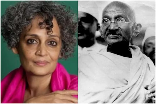 Arundhati Roy  has written critiques of Mahatma Gandhi's fight against casteism and racism