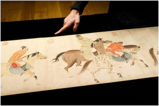Rare 700-year-old Chinese scrolls belonging to Yuan dynasty have been discovered | Image credit: Reuters
