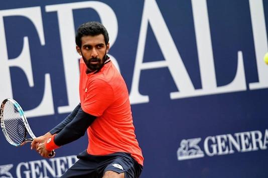 Prajnesh Gunneswaran (Photo Credit: Indian Tennis Daily Instagram)
