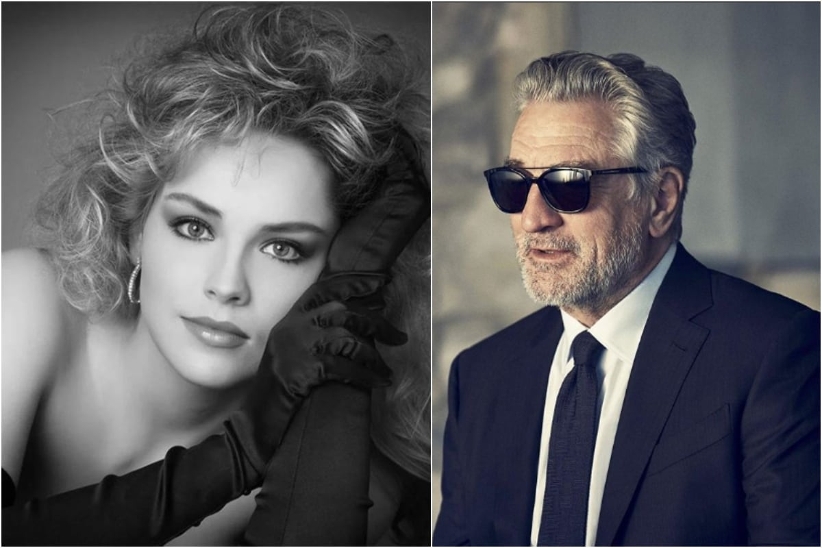 'Casino' Co-star Robert De Niro 'Best Kisser' for Sharon Stone