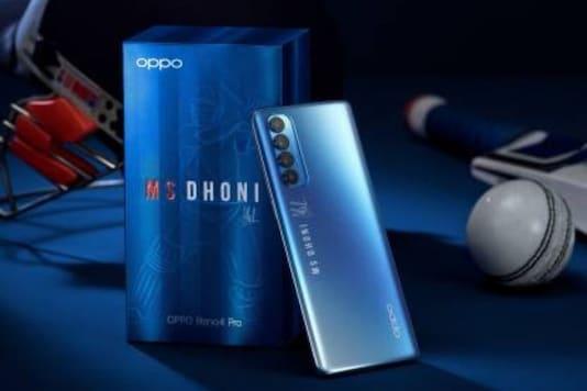 Oppo Reno 4 Pro 'MS Dhoni' edition