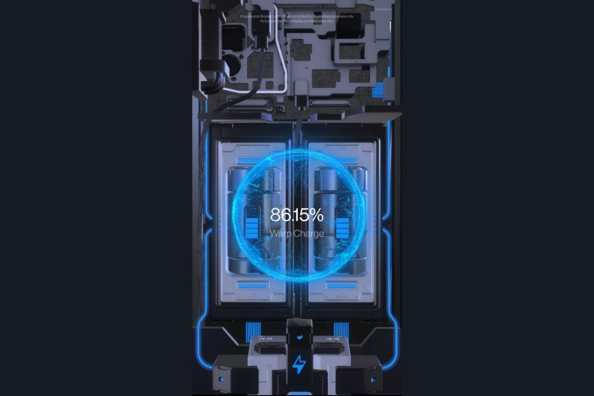 OnePlus 8T 65W warp charge teaser