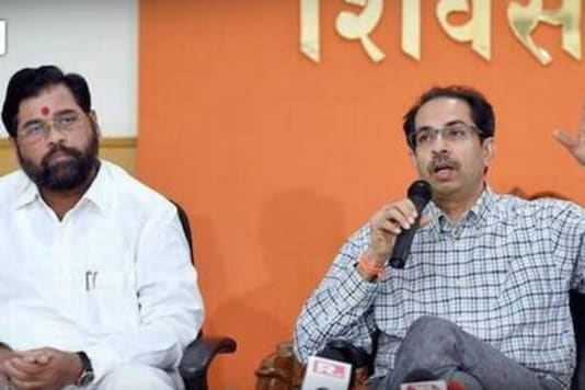 File photo of Eknath Shinde and Uddhav Thackeray. (News18 Hindi)