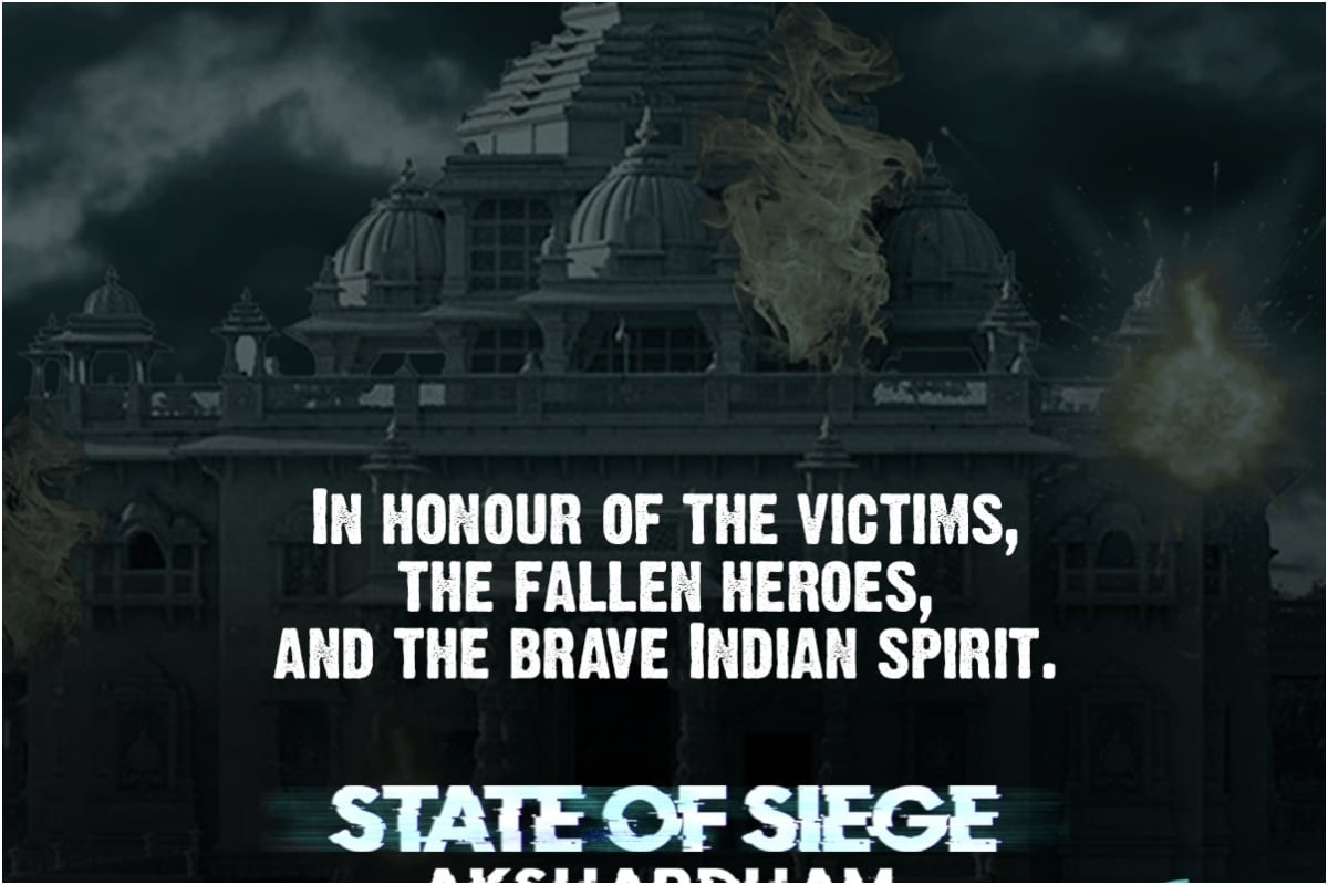 Next Film in 'State of Siege' Franchise is Based on Akshardham Temple Attack