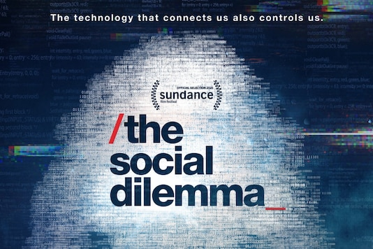 The Social Dilemma, theatrical poster. (Image: Netflix)