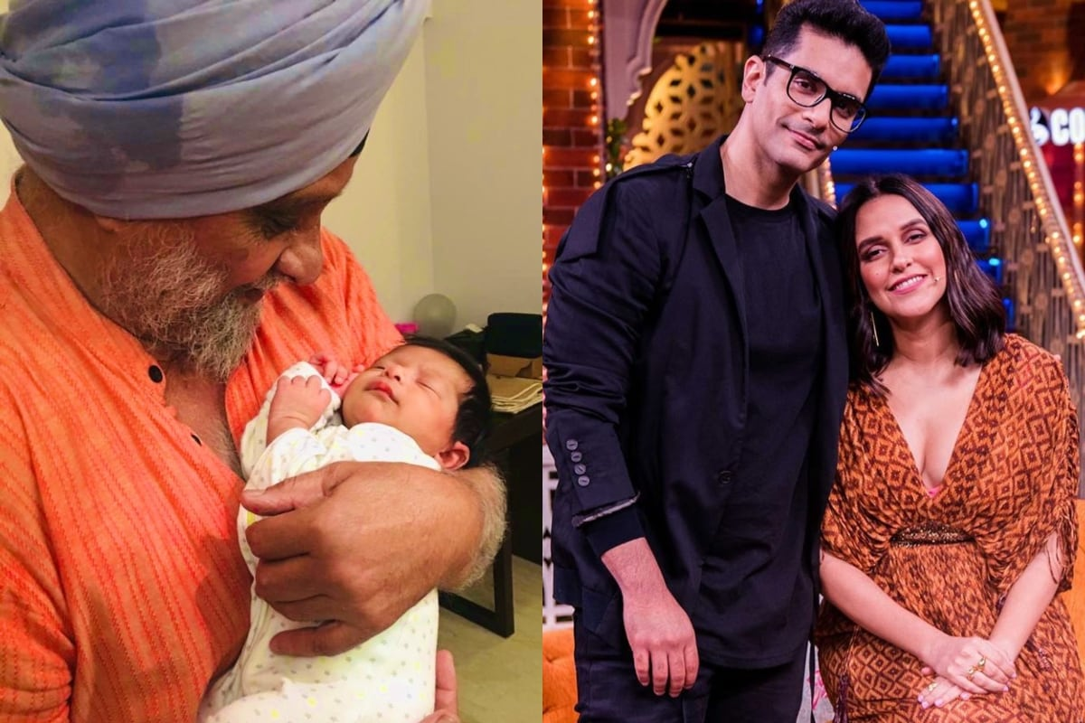 Neha Dhupia Shares Father-in-law Bishan Bedi's Adorable Pic With Daughter on His Birthday
