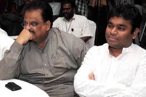 SP Balasubrahmanyam and AR Rahman