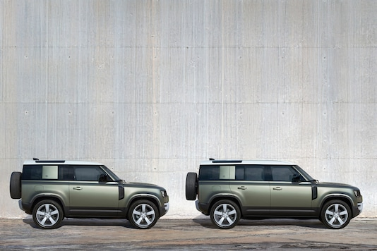 Land Rover Defender 90 and 110. (Image source: Land Rover)