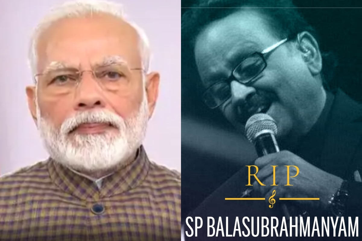With Unfortunate Demise of SP Balasubrahmanyam, Our Cultural World is a Lot Poorer: PM Modi
