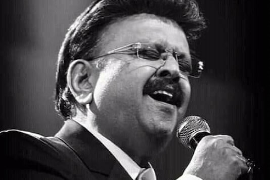 File photo of legendary singer SP Balasubrahmanyam.