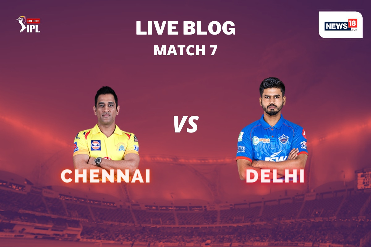 Ipl 2020 Csk Vs Dc Today S Match At Dubai Highlights As It Happened