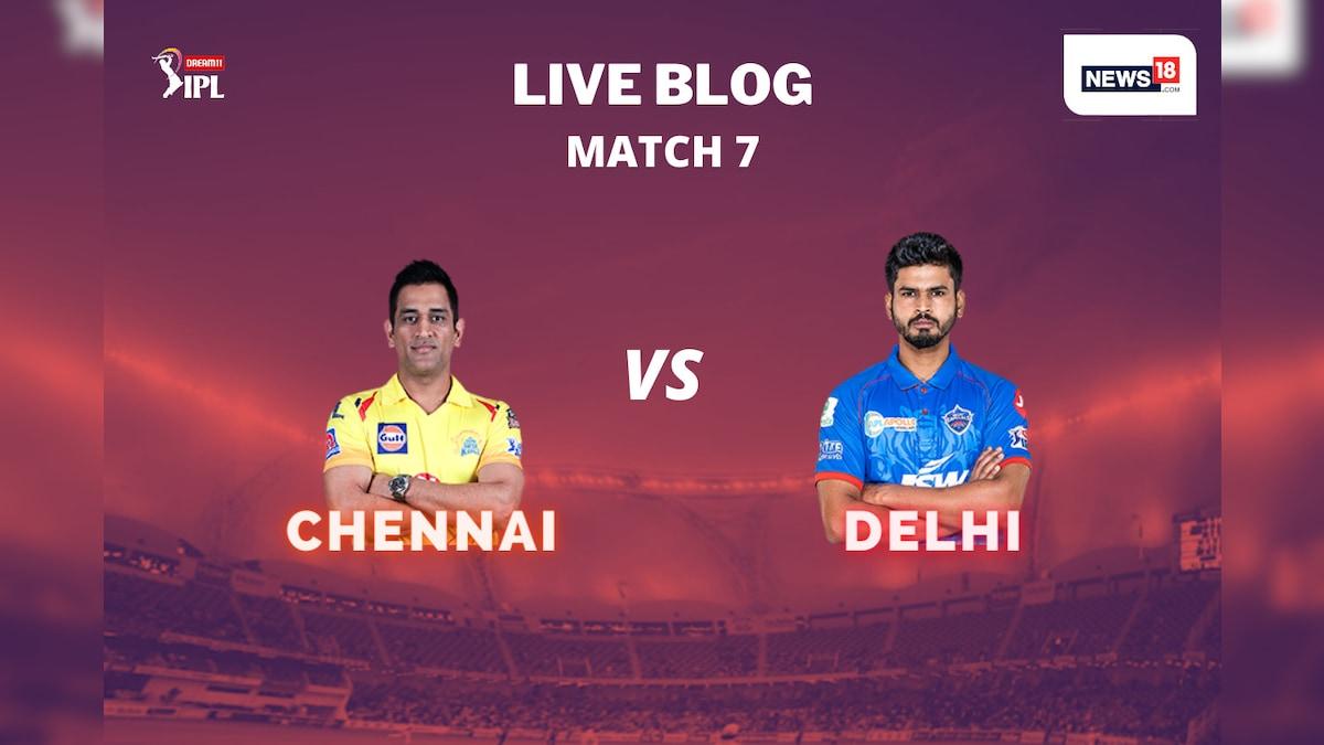 <b>IPL 2020</b>, CSK vs DC Today's Match at Dubai, Highlights: As It ...