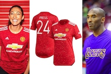 Christen Press Honours Late Star Kobe Bryant with Manchester United's 24 Jersey