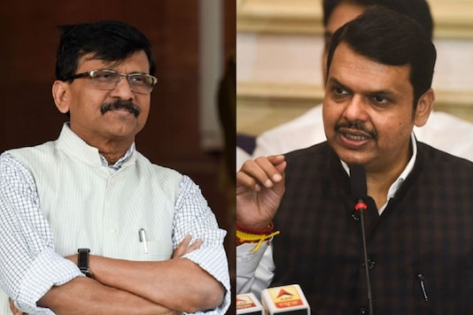 Devendra Fadnavis and Sanjay Raut.