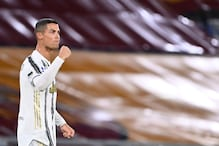 Cristiano Ronaldo Brace Rescues a Point for 10-man Juventus at Roma in Serie A
