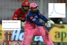 'Rahul Tewatia IPL Salary': What Indians Googled After Rajasthan Royals Player Turned into Overnight Star