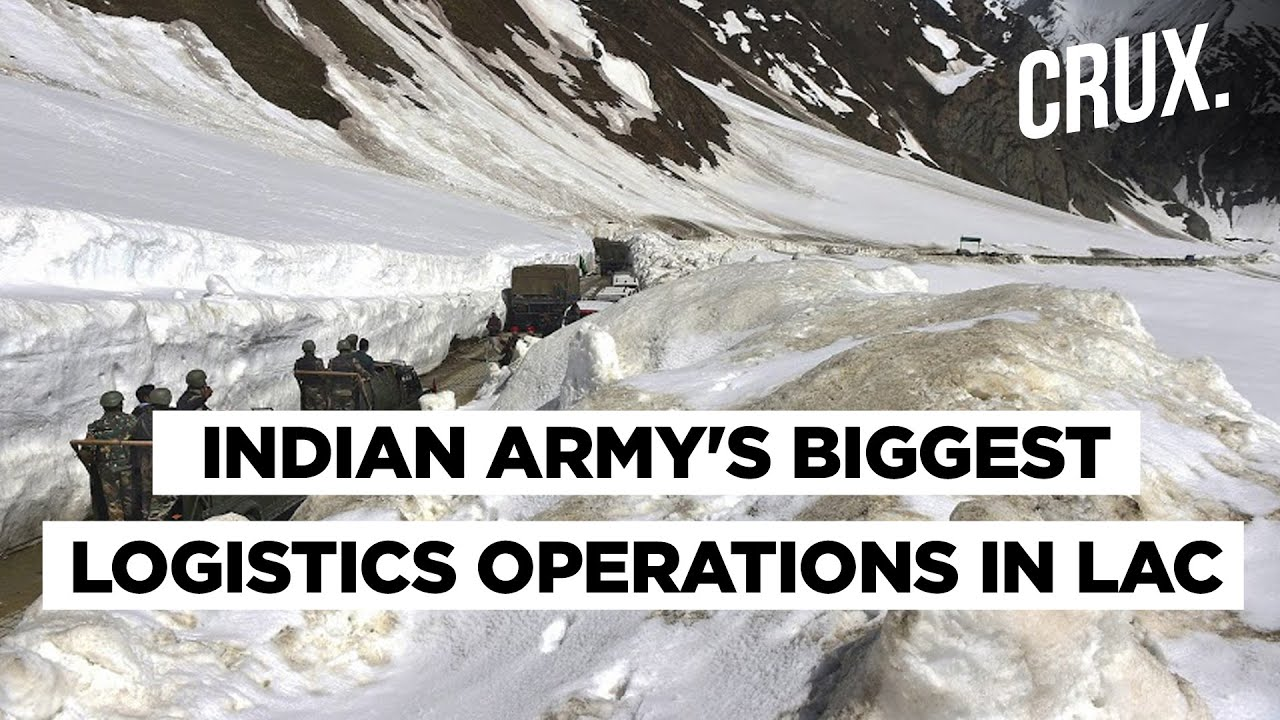 Border Row | Indian Army Deploys Tanks & Vehicles That Can Operate In -40 Degrees In Eastern Ladakh