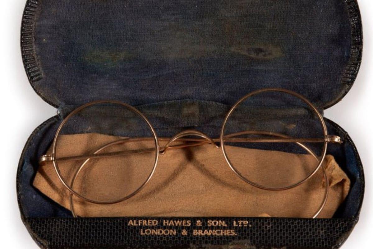 John Lennon's Golden-rimmed Glasses up for Auction on 50th Anniversary of Beatles's Split