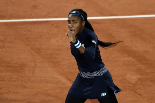 Coco Gauff advanced to the second round of French Open. (Photo Credit: AP)
