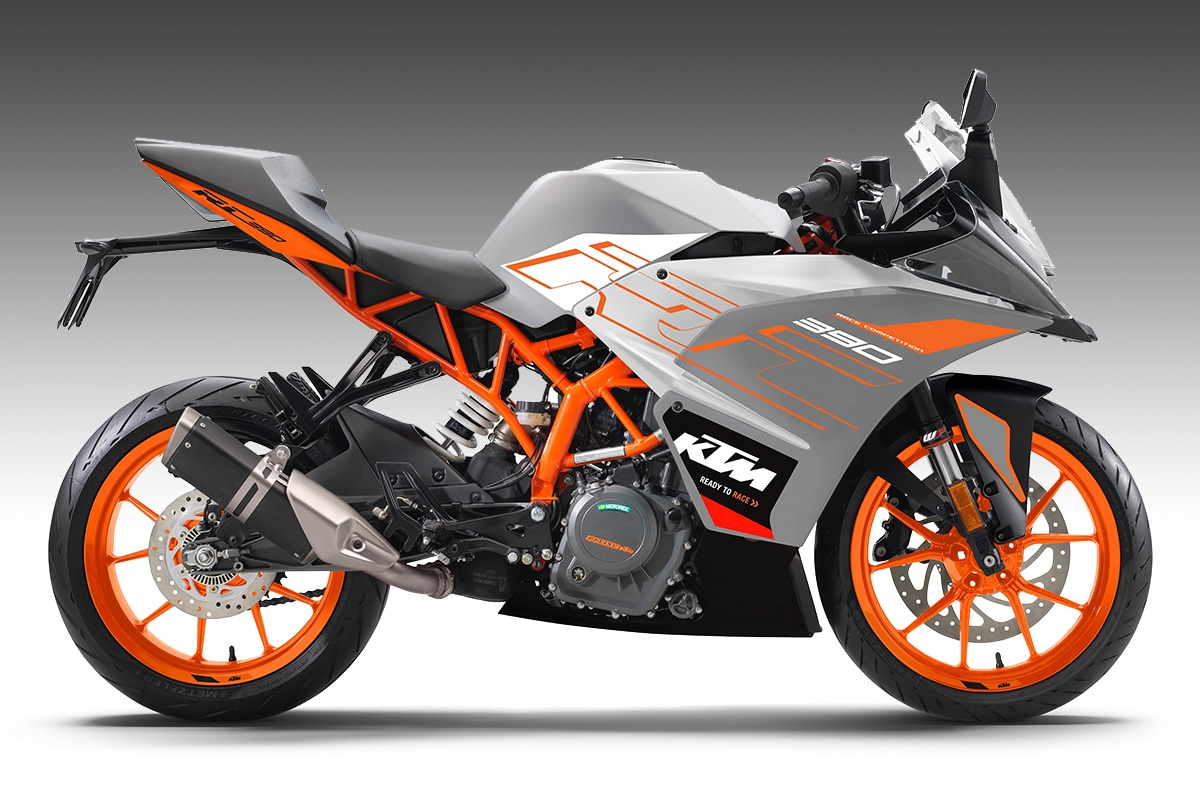 2020 KTM RC 125, 200 and 390 Get New Colour Options in India - Silver, Orange and Galvano