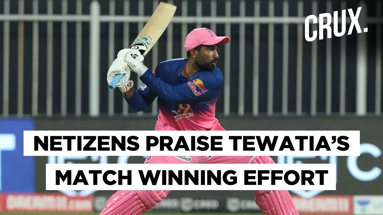 Meet Rahul Tewatia, The Man Who Snatched Victory From Kings Xi Punjab In One Over