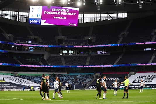 Tottenham's match against Newcastle saw a questionable penalty being given. (Photo Credit: AP)