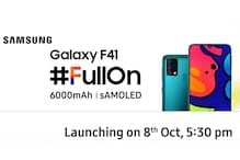 Samsung Galaxy F41 Triple Camera Setup to Feature a 64-Megapixel Lens, Listing Confirms