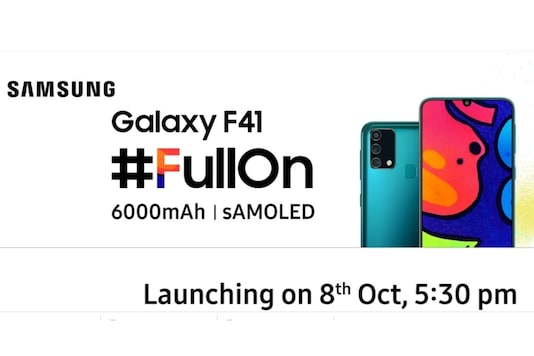 Samsung Galaxy F41 will launch on October 8. (Image Credit: Flipkart/ Screengrab)