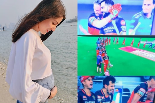 Virat Kohli's RCB Wins in Super Over, Anushka Sharma Jokes 'Too Exciting a Game for Pregnant Lady'