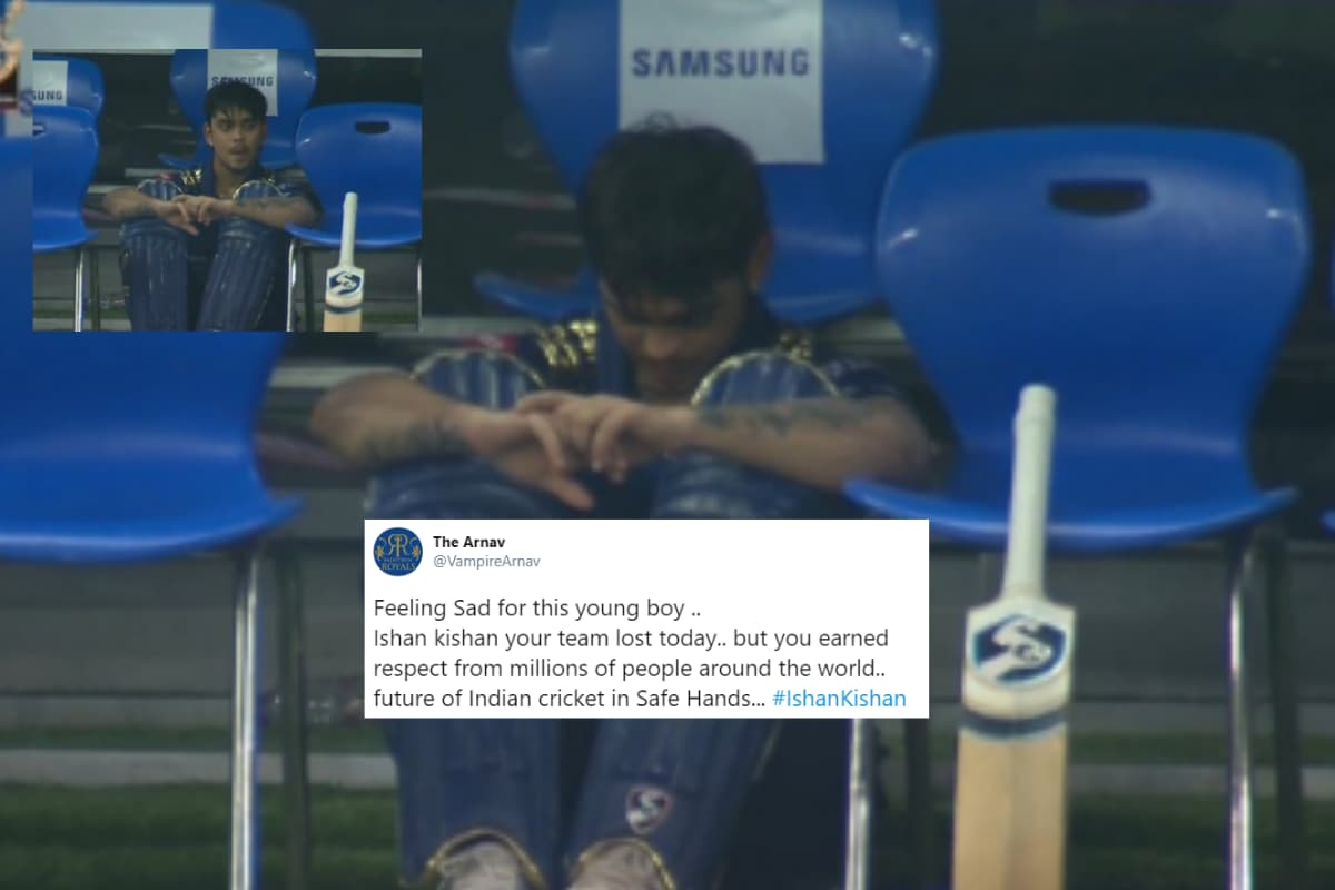 'Feel For Him': Photos of 'Upset' Ishan Kishan Go Viral as RCB Clinch Super Over Victory Against MI