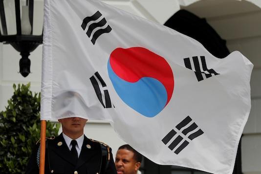 A South Korean flag.(Reuters)