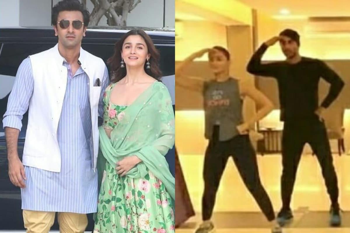 Pics of Ranbir Kapoor, Alia Bhatt's Dance Rehearsals from Armaan-Anissa's Wedding Goes Viral