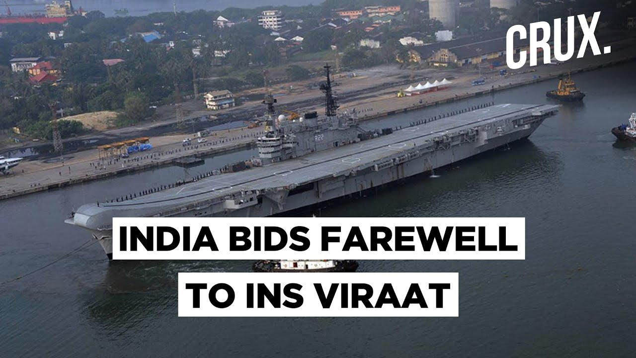 INS Viraat To Be Dismantled After Serving Indian Navy For 30 Years