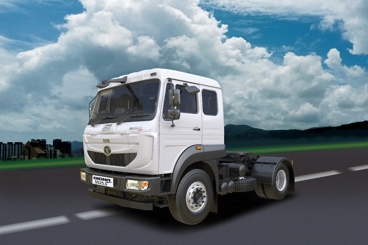 Tata Signa 5525.S 4x2 Launched in India, Gets 55-Tonne Gross Combination Weight Capacity