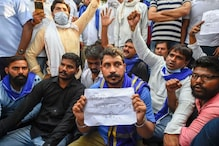 Congress, Left and Bhim Army Protest Near UP Bhawan and India Gate Against Gangrape and Murder of Dalit Woman
